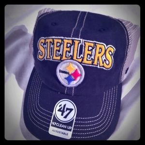 Pittsburgh Steelers Relaxed Fit Adjustable Hat